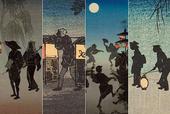 夜が夜以上に夜っぽい!明治の浮世絵師「高橋松亭」がステキ