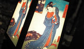 上野で昔の灯りが楽しめる「うえの華灯路浮世絵行燈」