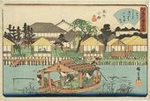 下町の墨田区で「隅田川」の浮世絵を鑑賞