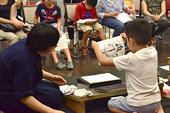 浮世絵摺り実演・体験会 日時:2016年8月3日(水)