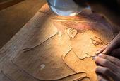 「さくらん」きよ葉の美人画 安野モヨコのサイン入り