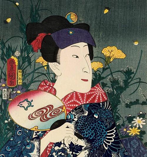 国芳と国貞の浮世絵展