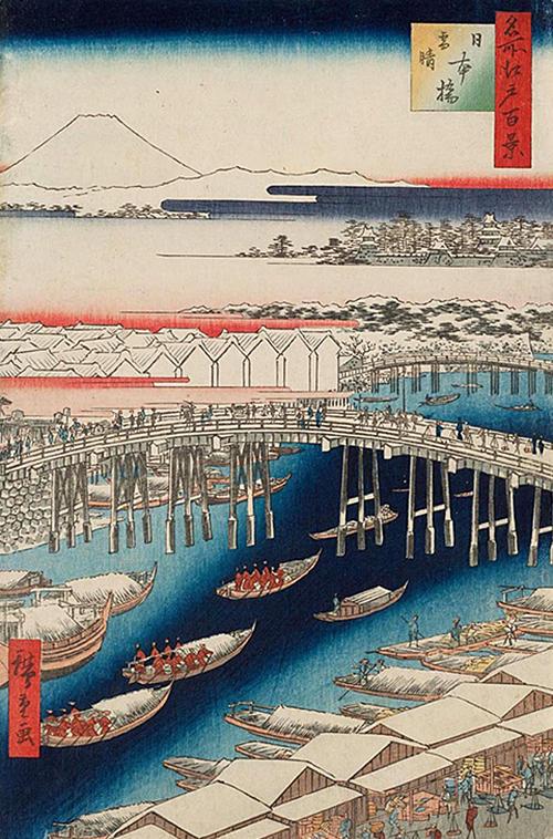 日本橋雪晴 (春の部)