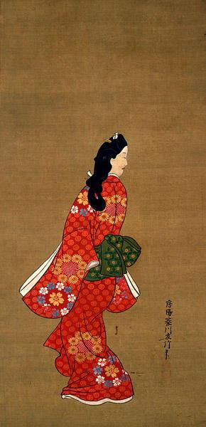 菱川師宣『見返り美人図』