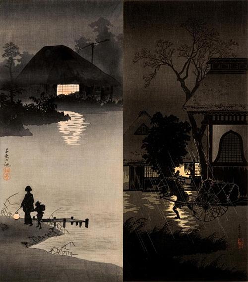 シルエット浮世絵師「高橋松亭」