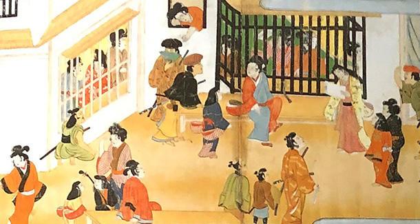 露殿物語絵巻(六条三筋町)