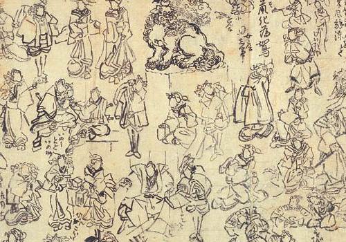 浮世絵師 歌川国芳直筆デッサン画がすごい!