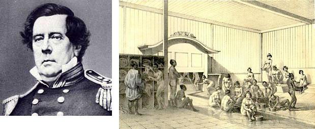 マシュー・ペリー総督と『日本遠征記』の挿絵