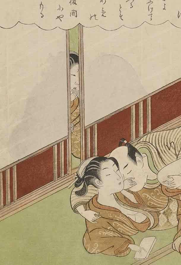 鈴木春信「風流座敷八景」