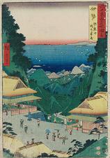 伊勢 朝熊山 峠の茶屋