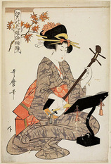52-江戸の花娘浄瑠璃 紅葉