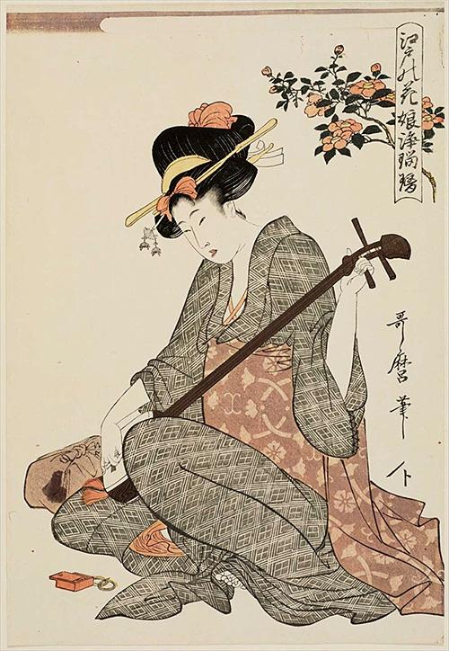 51-江戸の花娘浄瑠璃 椿