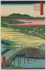 116高田姿見のはし 俤の橋砂利場 (冬の部)
