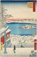 117湯しま天神坂上眺望 (冬の部)