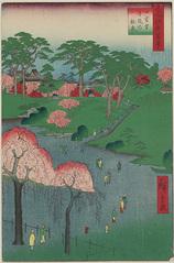 14日暮里寺院の林泉 (春の部)