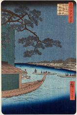54浅草川首尾の松御厩河岸 (夏の部)