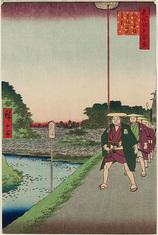 85紀の国坂赤坂溜池遠景 (秋の部)