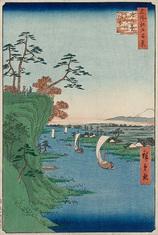 95鴻の台とね川風景 (秋の部)
