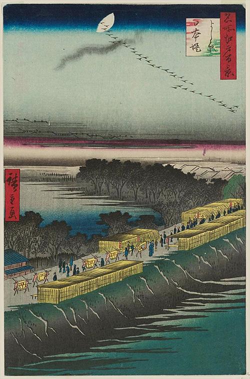 100よし原日本堤 (冬の部)