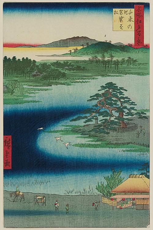 110千束の池袈裟懸松 (冬の部)