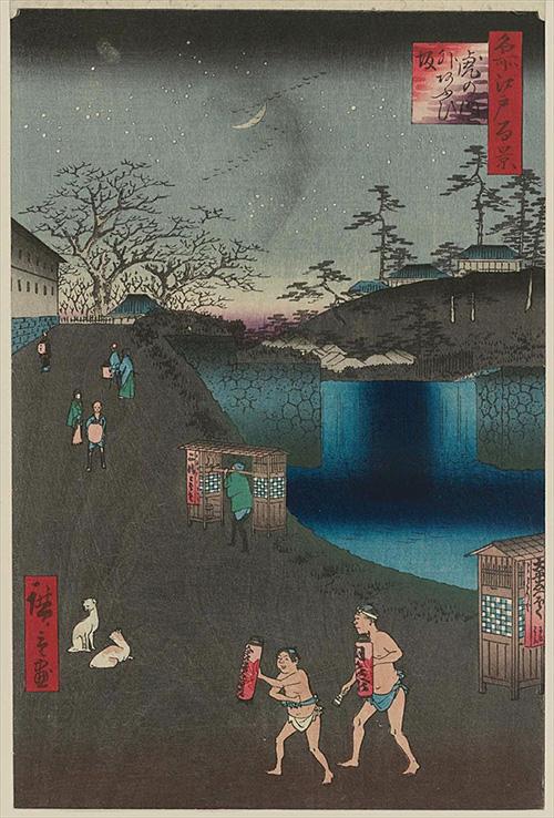 113虎の門外あふひ坂 (冬の部)