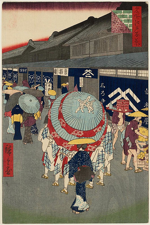 44日本橋通一丁目略図 (夏の部)