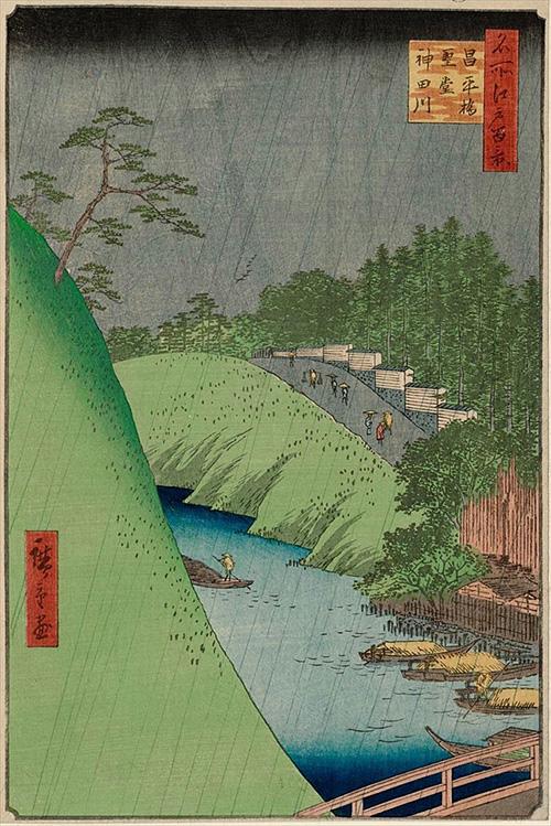46昌平橋聖堂神田川 (夏の部)