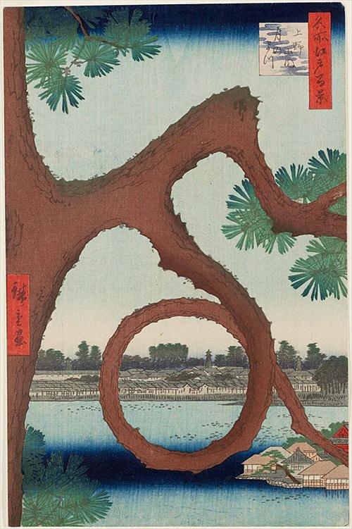 89上野山内月のまつ (秋の部)