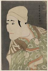 19-八世森田勘弥の駕籠舁鶯の次郎作