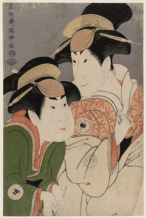 31-二世瀬川富三郎の大岸蔵人妻やどり木と中村万世の腰元若草