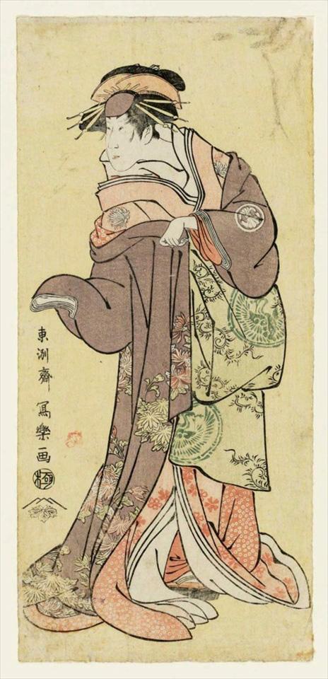 42-三世瀬川菊之丞の傾城かつらぎ
