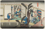 36. 赤坂 (旅舎招婦ノ図)