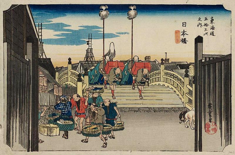 日本橋 (朝之景), 仙鶴堂版