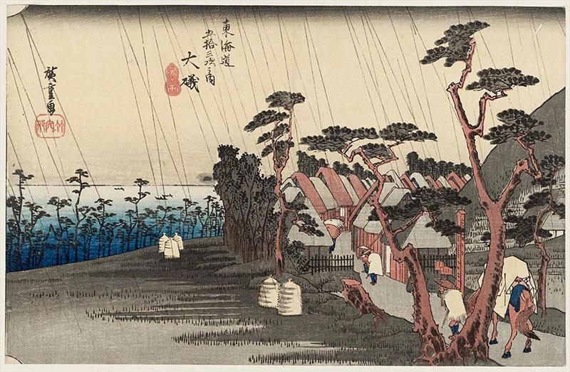 8. 大磯 (虎ヶ雨)