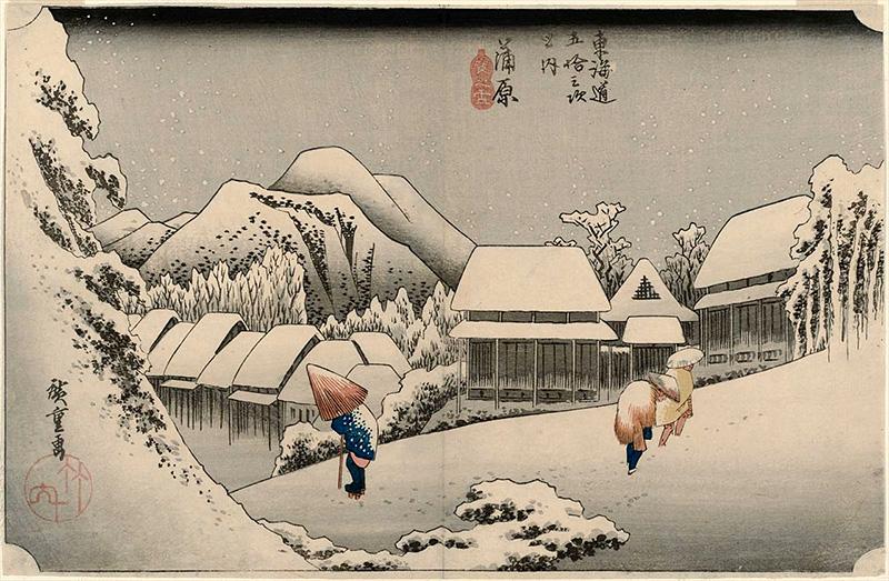 15. 蒲原 (夜之雪)