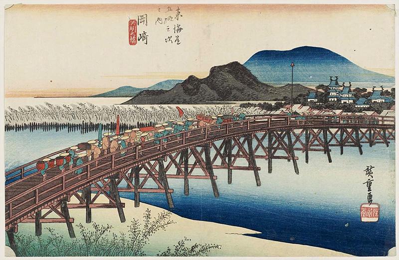 38. 岡崎 (矢作之橋)