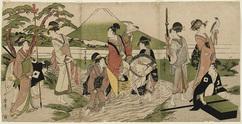 富士山麓の鷹狩り