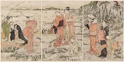 江の島岩屋の釣遊び