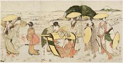 江の島浜辺1