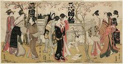 三囲神社の御開帳 (向島の花見)