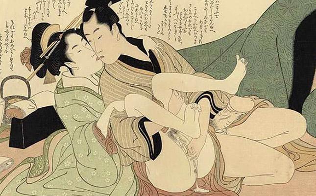 喜多川歌麿・春画