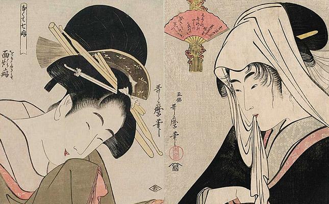 喜多川歌麿・美人画1